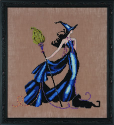 Borduurpatroon Bewitching Collection - Gigi - Mirabilia Designs