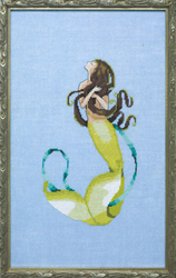 Cross Stitch Chart Petite Mermaid Collection - Bella Vita - Mirabilia Designs