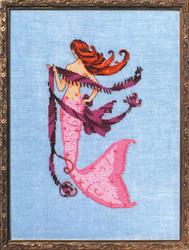 Cross Stitch Chart Petite Mermaid Collection - Solo Tua - Mirabilia Designs