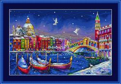 Cross Stitch Kit Holiday Venice - Merejka