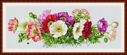Cross Stitch Kit Poppies - Merejka