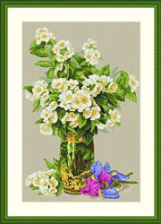Borduurpakket Sweet-scented Bouquet - Merejka