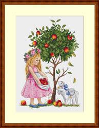 Borduurpakket Apple Tree - Merejka