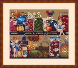Borduurpakket Pantry Treasures - Merejka