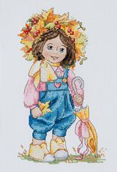 Borduurpakket Autumn Girl - Merejka