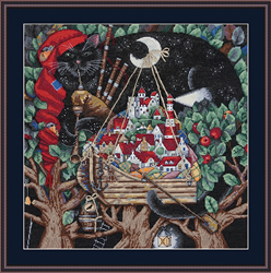 Cross stitch kit The Old Melody - Merejka