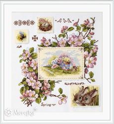 Cross stitch kit Spring Sampler - Merejka