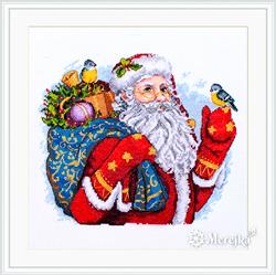 Cross stitch kit Merry Christmas! - Merejka