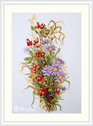 Borduurpakket Wildrose Berries - Merejka