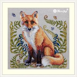 Cross stitch kit The Fox - Merejka