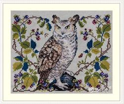 Cross stitch kit The Owl - Merejka