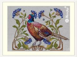 Cross stitch kit The Pheasant - Merejka