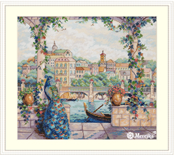 Cross stitch kit Palace Pier - Merejka
