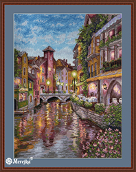 Cross stitch kit La Rivière - Merejka