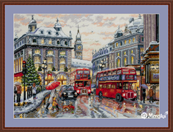 Cross stitch kit London - Merejka