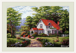 Cross stitch kit Sterling Estate - Merejka