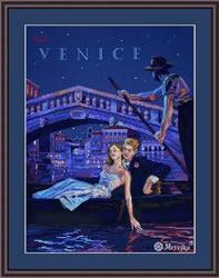 Borduurpakket Visit Venice - Merejka