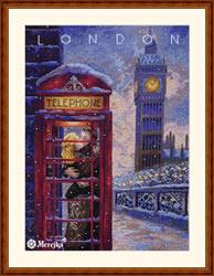 Borduurpakket Visit London - Merejka