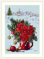 Cross stitch kit Happy Holiday - Merejka