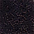 Glass Seed Beads Matte Chocolate - Mill Hill