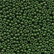 Glass Seed Beads Opaque Moss - Mill Hill