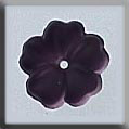 Glass Treasures 5 Petal Flower-Matte Amethyst - Mill Hill