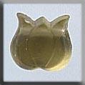 Glass Treasures Medium Tulip-Matte Yellow - Mill Hill