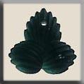 Glass Treasures Modified Fleur de Lis Gr.Turmaln - Mill Hill