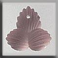 Glass Treasures Modified Fleur de Lis Rosaline - Mill Hill