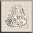 Glass Treasures Fluted Bell-Crystal - Mill Hill