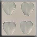 Glass Treasures Medium Chnld Heart-Matte Crystal - Mill Hill