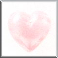 Glass Treasures Large Quartz Heart-Pink - Mill Hill