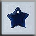 Glass Treasures Small Flat Star-Royal Blue - Mill Hill