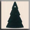 Glass Treasures Lg. Christmas Tree-M. Tourmaline - Mill Hill