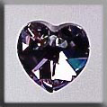 Crystal Treasures Small Heart-Vitrail Light - Mill Hill