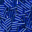 Small Bugle Beads Royal Blue - Mill Hill