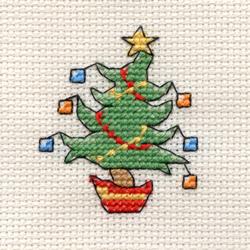 Cross Stitch Kit Jolly Tree - Mouseloft