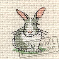 Cross Stitch Kit Trevor the Rabbit - Mouseloft