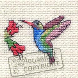 Cross Stitch Kit Hummingbird - Mouseloft