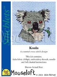 Borduurpakket Koala - Mouseloft