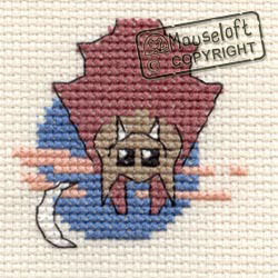 Cross Stitch Kit Bat - Mouseloft