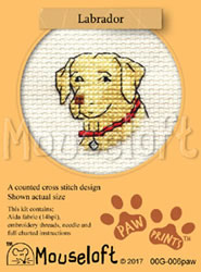 Borduurpakket Labrador - Mouseloft