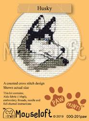 Borduurpakket Husky - Mouseloft