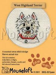 Borduurpakket West Highland Terrier - Mouseloft