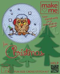 Borduurpakket Cosy Owl - Mouseloft