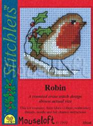 Borduurpakket Robin - Mouseloft