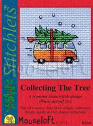 Borduurpakket Camper Van Collecting The Tree - Mouseloft