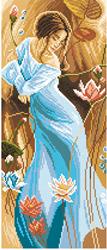 Voorbedrukt Aida Romance - Matryonin Posad