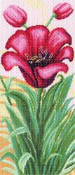 Pre-printed Aida Tulips Composition - Matryonin Posad