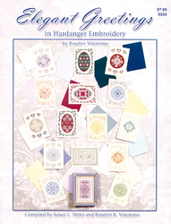Hardangerpatroon Elegant Greetings in Hardanger - Nordic Needle